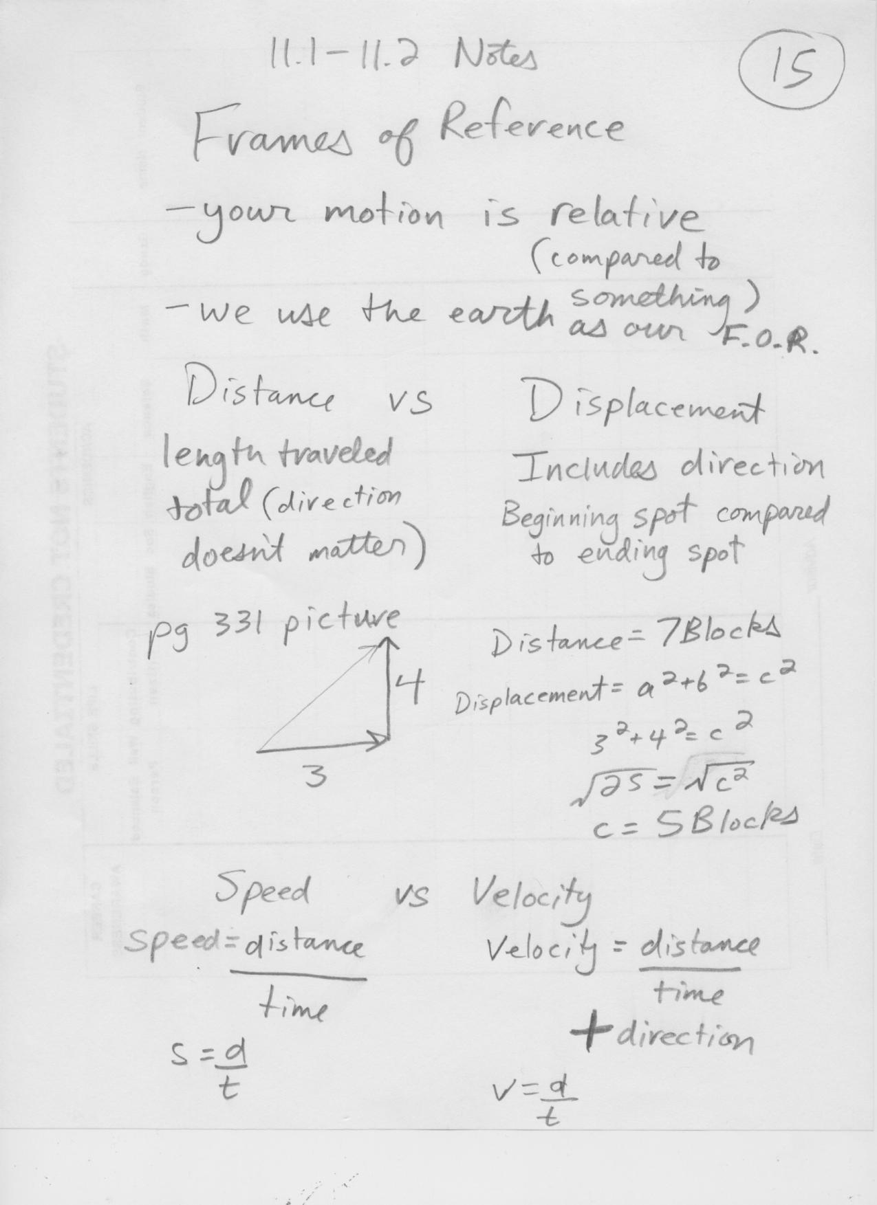 gilesc licensed for noncommercial use only Physics9 – Speed and Velocity Worksheet